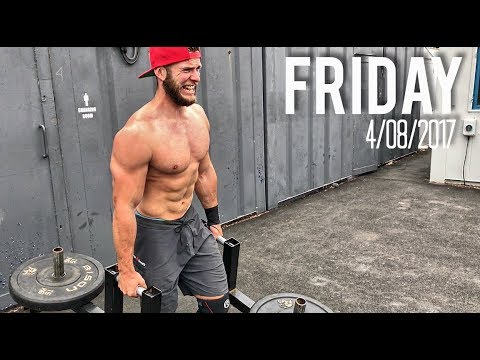 CROSSFIT GAMES INSPIRED STRONGMAN WOD (Functional Strongman Workout)