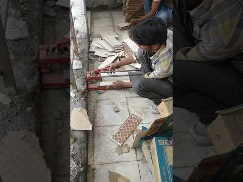Tile skirting cutting too good