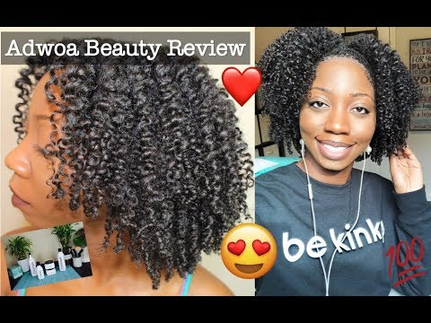 These products are a GAME CHANGER! | Wash Day & Twist Out ft. Adwoa Beauty