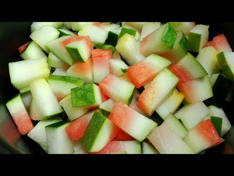 What Can Do To Your Health Rinds of Watermelon!