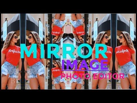 Mirror Image - Photo Editor / Efeito de Espelho para Fotos #1