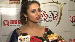 Ragini Khanna, Gorgeous Desi Babes & plunging necklines at launch of Telly Calandar 2013