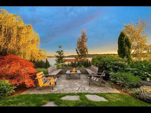 Waterfront Estate with Phenomenal 180-Degree Views in Mercer Island, Washington