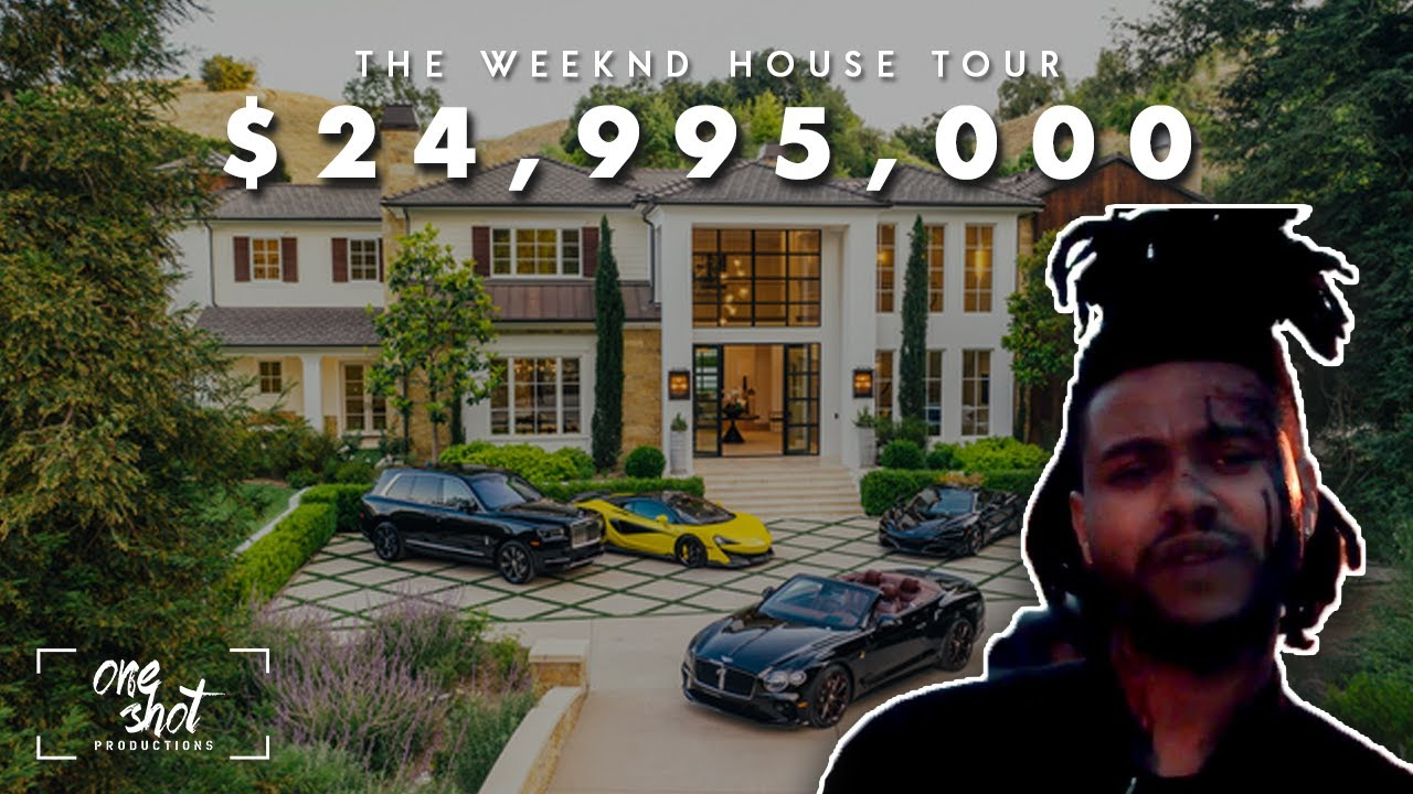 STEP INSIDE THE WEEKND CALABASAS HOUSE TOUR $24,995,000