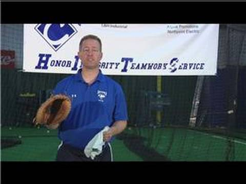 Baseball Tips : How to Clean a Leather Baseball Mitt