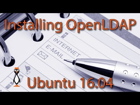 Installing OpenLDAP on Ubuntu 16 04 Server