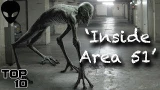 Top 10 Scary Alien Urban Legends