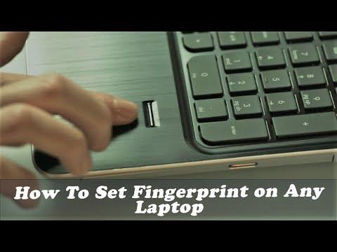 How To Set Fingerprint Password on Any Laptop