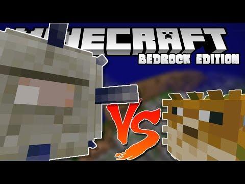 PUFFERFISH STRONGER THAN ELDER GUARDIANS?? - 1.3 Aquatic Update - Minecraft Bedrock Edition
