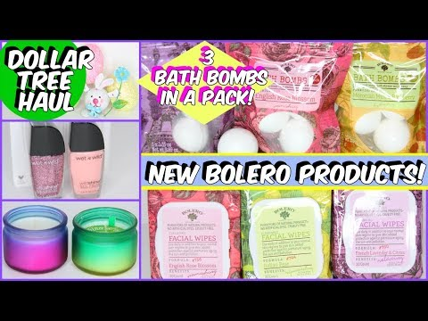 DOLLAR TREE HAUL 2018 NEW BOLERO PRODUCTS