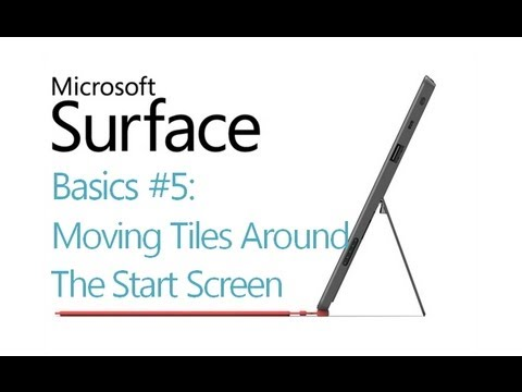 Surface RT Tips - Basics: #5 Lock Screen Password Basics Microsoft Windows 8