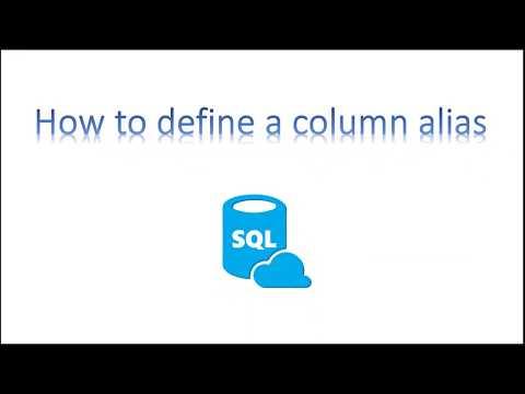 Learn SQL in 3 Minutes--Define a column alias