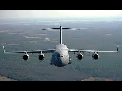C-17 Landing at Charleston SC airport!