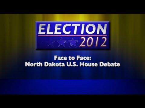 Face To Face: North Dakota U.S. Congressional Debate 2012