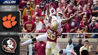 Clemson vs. Florida State Condensed Game   2018 ACC Football