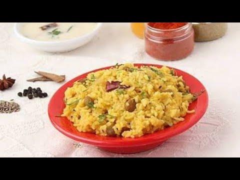 मसाला खिचड़ी- Masala Khichadi Recipe in Hindi-Dal Khichadi-Quick and Easy Khichadi #13