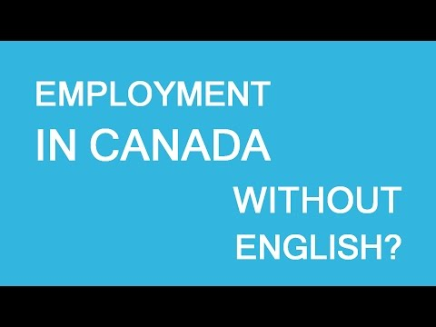 Work in Canada without English? LP Group