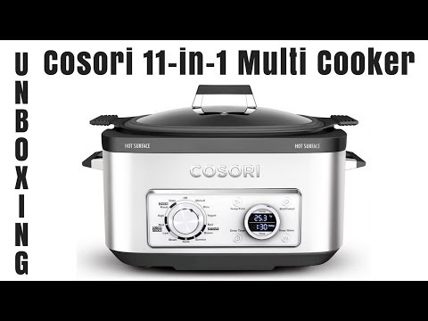 COSORI 6 Qt 11-in-1 Programmable Multi Cooker - Unboxing And Review