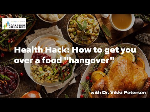 Health Hack: How to get you over a food