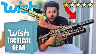 I Bought ALL The WORST Rated TACTICAL GEAR On Wish!! *MYSTERY PACKAGES*
