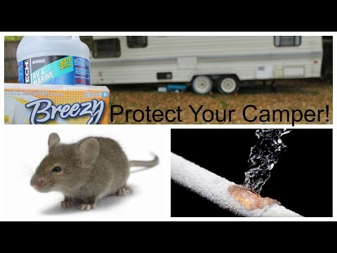 How to Winterize Your RV/Travel Trailer, 5th Wheel, MotorHome, or Camper