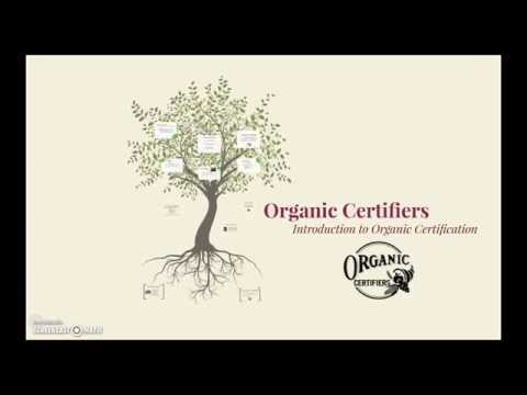 Introduction to Organic Certification