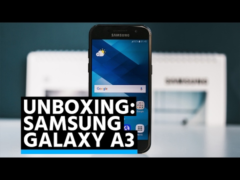 Unboxing: Samsung Galaxy A3 (2017)