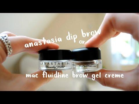 ANASTASIA DIP BROW OR MAC FLUIDLINE BROW GEL CREME