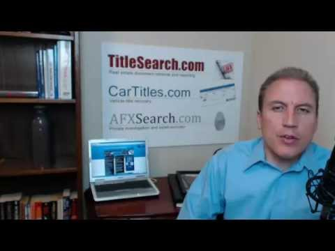 Do you need a certified title search?