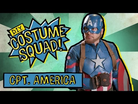 Make Captain America's Suit & Shield - DIY Costume Squad