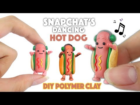 Miniature SNAPCHAT HOT DOG MAN!?