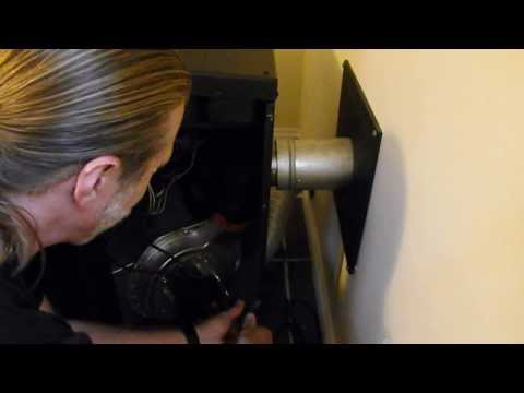 DIY - How to clean out your pellet stove combustion blower
