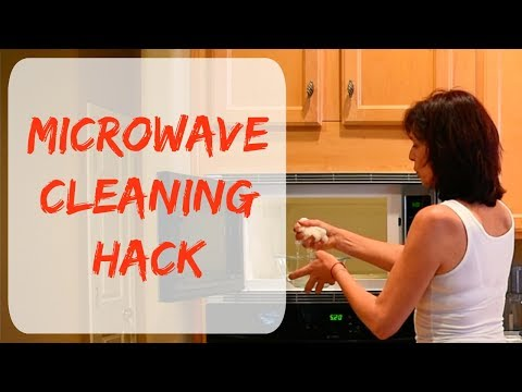 How To Clean Microwave Oven Easy Hack, Non Toxic & Organic Cleaning Tip