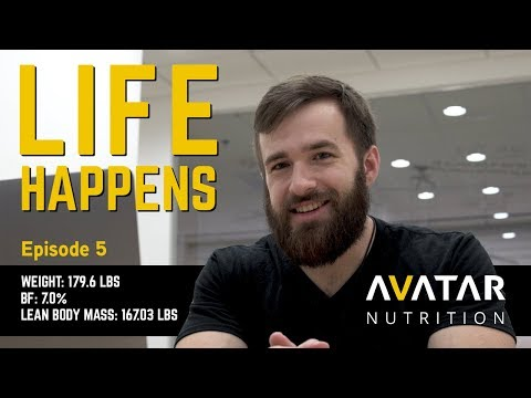 LIFE HAPPENS   Raw Powerlifting Nationals Prep Episode 5