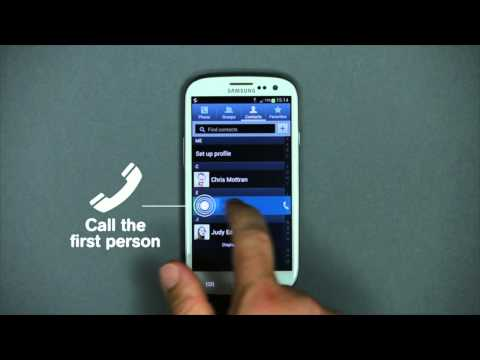 How to use Conference Call with Android - Mobistar