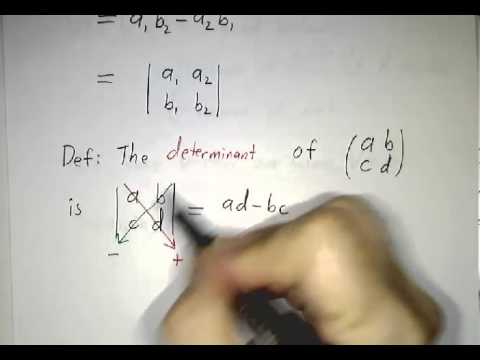 Areas, Volumes and Determinants