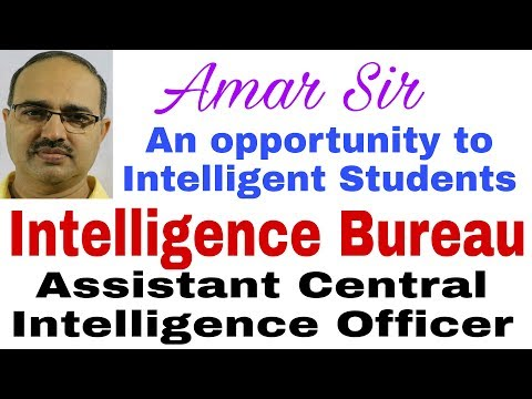 Intelligence Bureau (ACIO) Grade II exam-2017 #Amar Sir   Vision and Planning-38