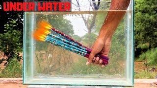Diwali Magic Pencil Underwater | पानी में चलाई दिवाली रोशनी