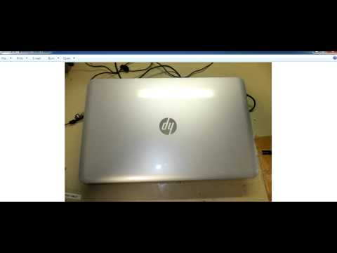 How to identify a HP laptop model