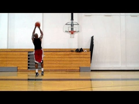 Dre Baldwin: Combo Shooting Move - Thru-Behind, Back-Thru, Scissor Cross Pullup Jumper Pt. 1