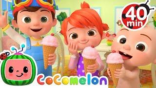 Ice Cream Song + More Nursery Rhymes \u0026 Kids Songs - CoComelon