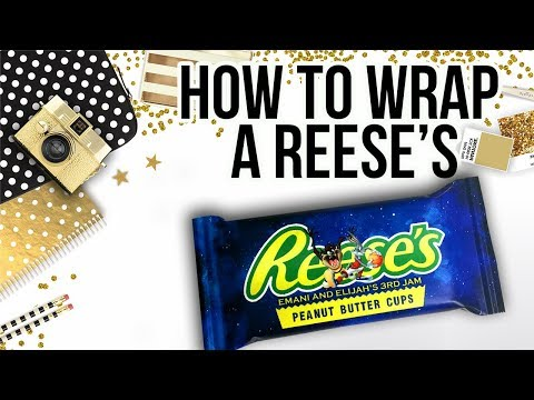 Candy Bar Wrapper Tutorial: Reese's