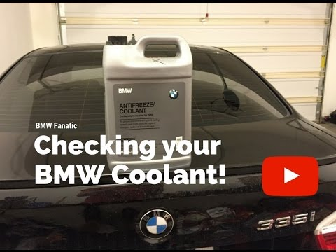 How to check your BMW Coolant!