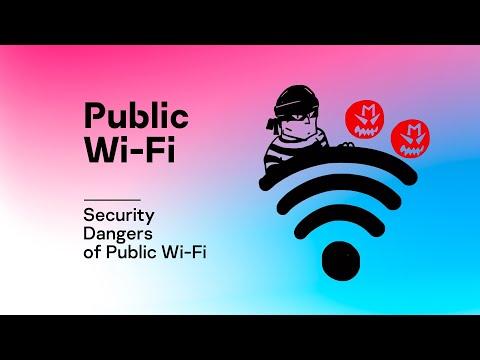 Security Dangers of Public Wi-Fi