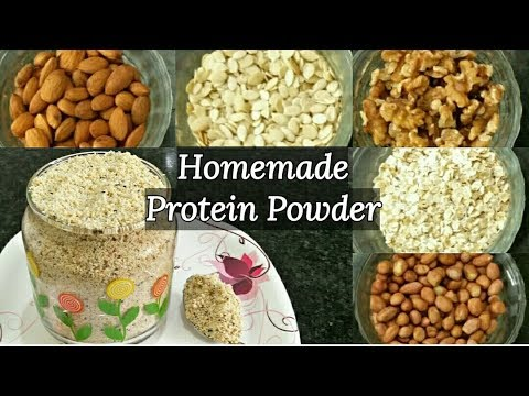 Homemade Protein Powder | How to Make Protein Powder at Home