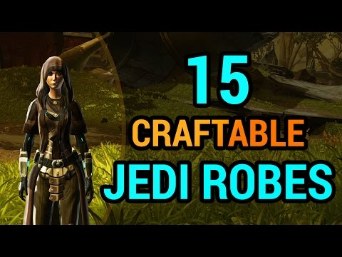 15 Jedi Robes You Can Craft in SWTOR