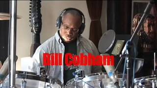 Billy Cobham drum session with Ken Scott (Archive)