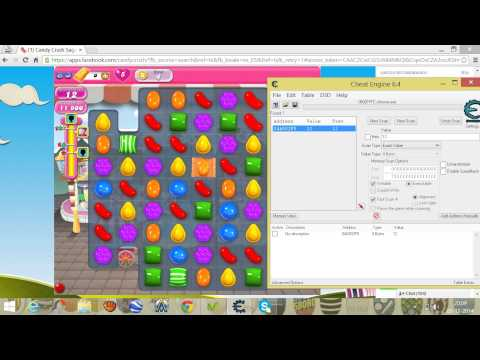 Hack de candy crush saga con CHEAT ENGINE 6.4
