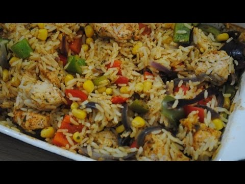 CAJUN CHICKEN RICE - Student Recipe