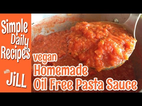 Homemade Oil Free Pasta Sauce